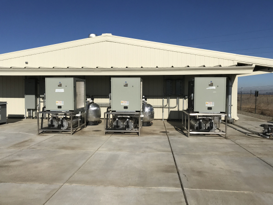 Refuge Rearing Chillers and Bead Filters